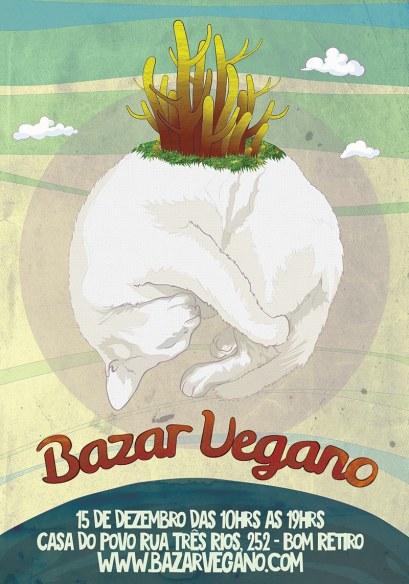 cartaz bazar veg