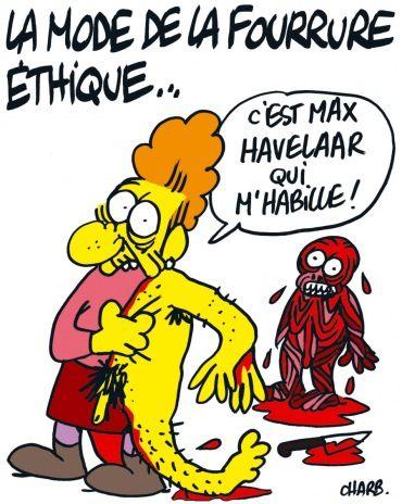 Charge: Peles – Autor: Stéphane (Charb)